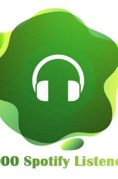 1000 Spotify Listeners