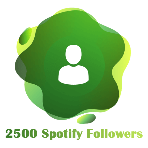 2500 Spotify Followers
