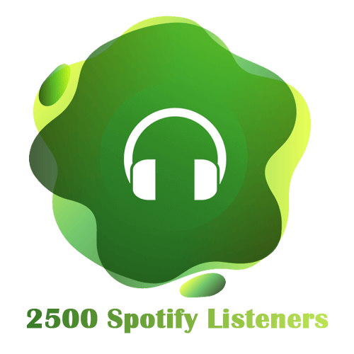 2500 Spotify Listeners