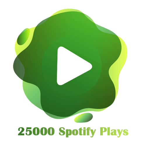 25000 Spotify Plays
