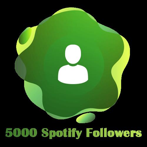 5000 Spotify Followers
