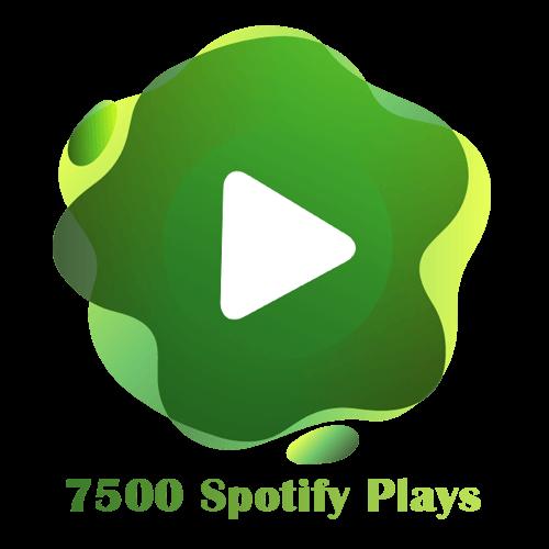 7500 Spotify Plays